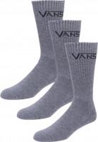 Vans-Socken-Classic-Crew-3-Pack-heathergrey-Vorderansicht