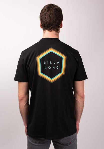Billabong T-Shirts Access Back black vorderansicht 0398774