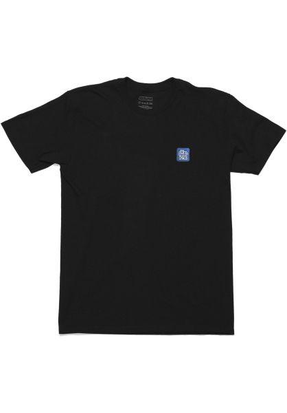 Transworld T-Shirts 411VM Chaos Embroidered black vorderansicht 0399635