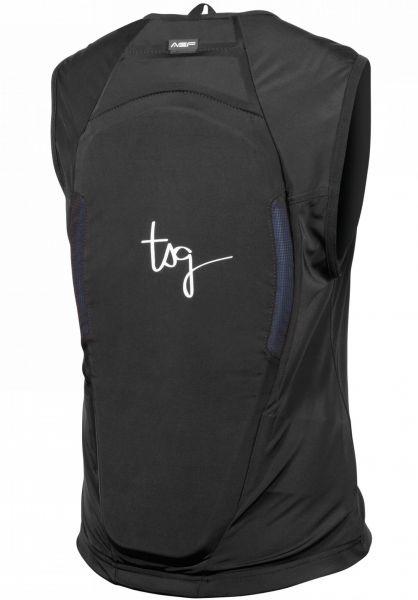 TSG Diverse Schoner Backbone Vest WMN A black vorderansicht 0259006