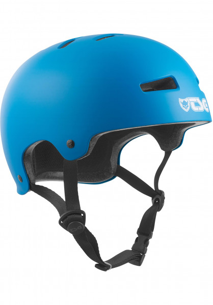 TSG Helme Evolution Solid Colors satin dark cyan Vorderansicht