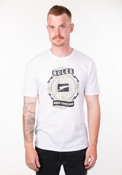 Rules T-Shirts Bolts white vorderansicht 0397183