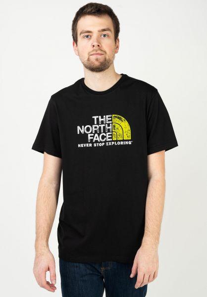 The North Face T-Shirts Rust 2 tnfblack-tnfwhite vorderansicht 0321495