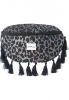 Spiral Hip-Bags Black Label Bum Bag safari tassels vorderansicht 0169100