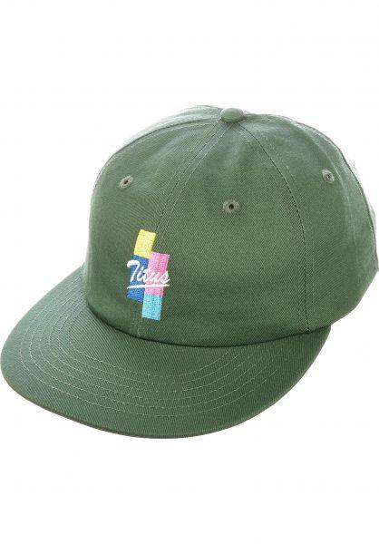 TITUS Caps Dario Cap green vorderansicht 0566701