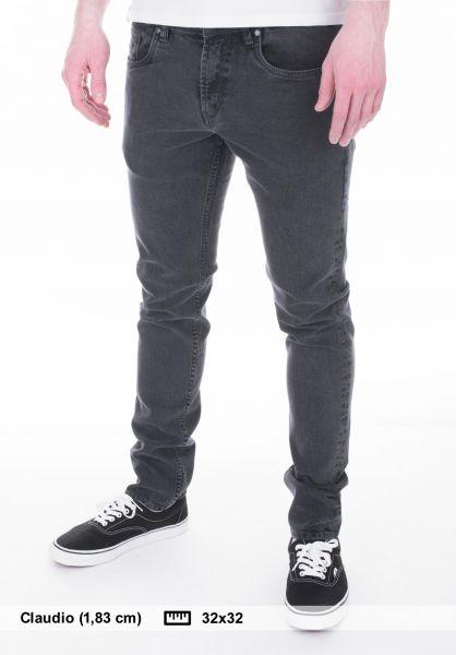 Reell Jeans Spider darkgreywash Vorderansicht