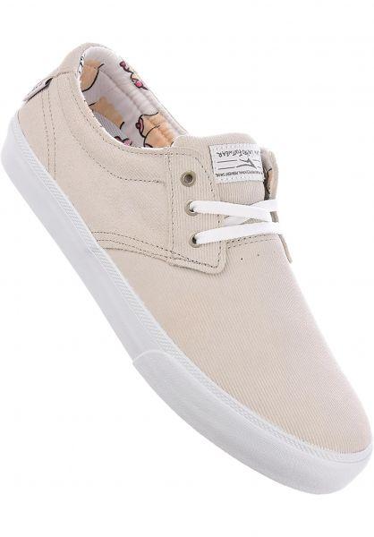 Lakai Alle Schuhe Daly white Vorderansicht