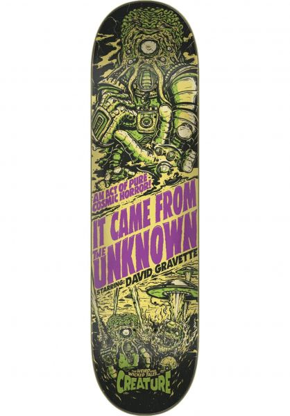 Creature Skateboard Decks Wicked Tales Gravette vorderansicht 0265965