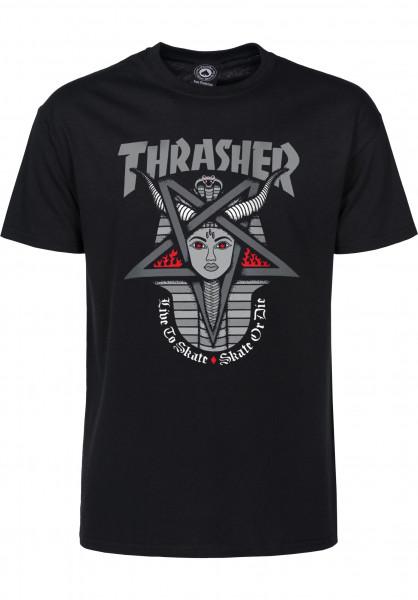 Thrasher T-Shirts Goddess black Vorderansicht