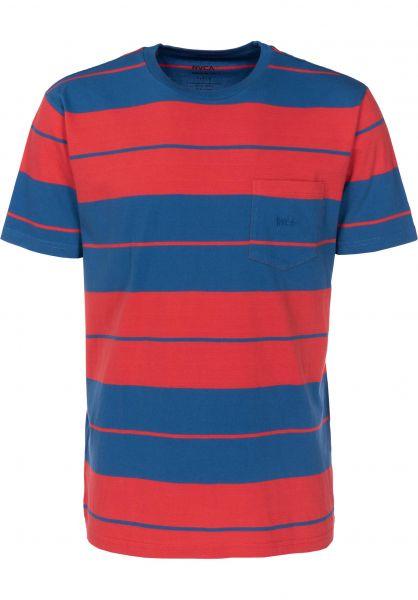 RVCA T-Shirts Ellis cobalt Vorderansicht
