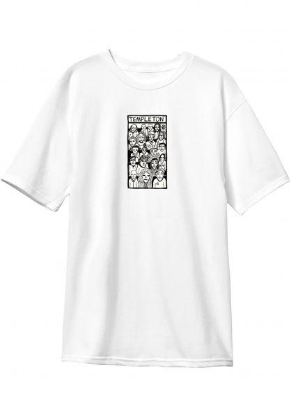 New-Deal T-Shirts Ed Crowd Price Point white vorderansicht 0322082