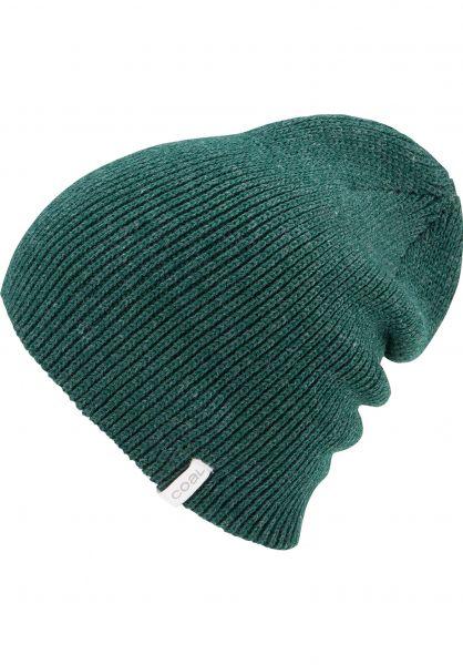 coal Mützen The Frena heatherforestgreen Vorderansicht 0570986