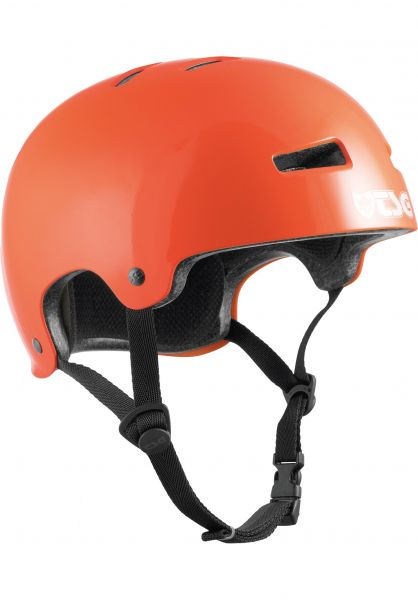 TSG Helme Evolution Solid Colors gloss orange vorderansicht 0075046