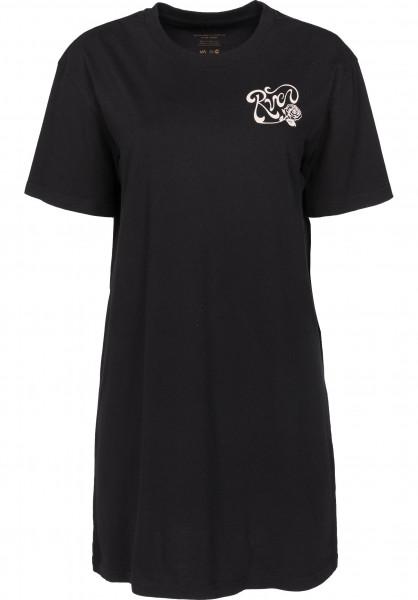 RVCA Kleider Bloom black Vorderansicht