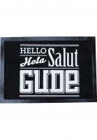 GUDE-Verschiedenes-Hello-Hola-Salut-Gude-black-white-Vorderansicht