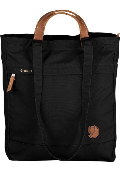 Fjällräven Taschen Totepack No. I black vorderansicht 0891491