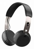 Skullcandy Kopfhörer Grind Wireless On Ear black-chrome-black Vorderansicht