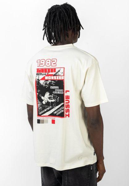 TITUS T-Shirts Retro Cover Print offwhite-acid vorderansicht 0320163