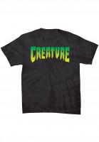 Creature T-Shirts Logo spider-black Vorderansicht