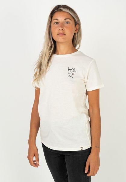 iriedaily T-Shirts Lov N Peace offwhite vorderansicht 0322268