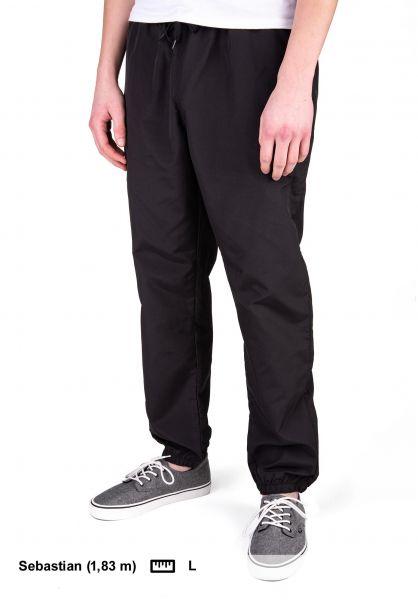 iriedaily Jogginghosen Prime Track Pant black vorderansicht 0680205