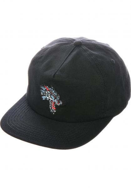 Thrasher Caps Leopard Mag Embroidered black vorderansicht 0572591