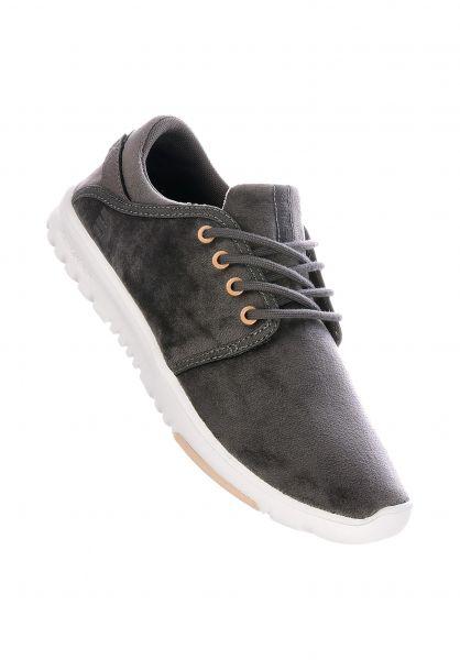 etnies Alle Schuhe Scout grey-white-gold vorderansicht 0612050
