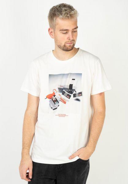 Dedicated T-Shirts NES Consol offwhite vorderansicht 0322304