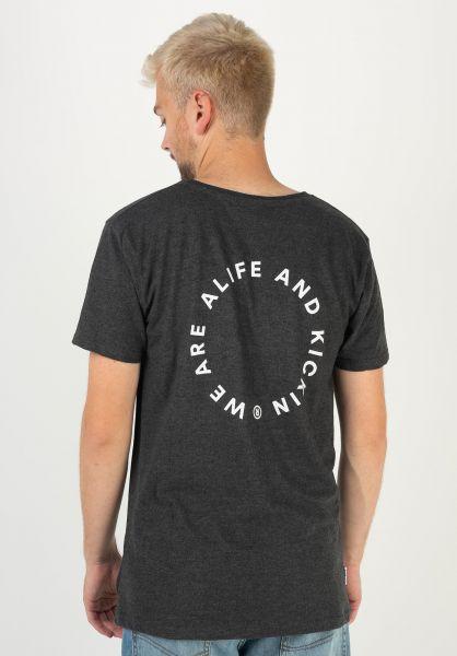 alife and kickin T-Shirts Logo Pocket darkforrest 320 vorderansicht 0322162