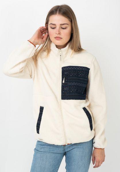 iriedaily Sweatshirts und Pullover Arkta Teddy offwhite vorderansicht 0422981