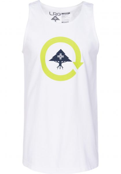 LRG Tank-Tops Research Cycle white Vorderansicht