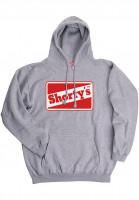 Shortys-Hoodies-OG-Logo-greymottled-Vorderansicht