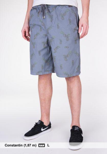 TITUS Shorts Tropical grey-pattern Vorderansicht