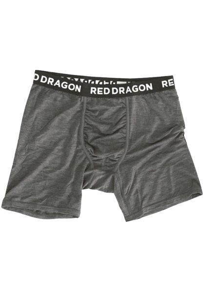 Red-Dragon Unterwäsche Boxer Briefs darkheather-black vorderansicht 0470834