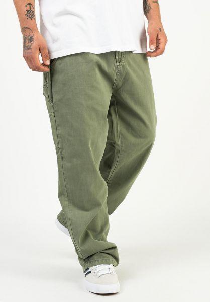 TITUS Jeans Workpant oil-green vorderansicht 0269068