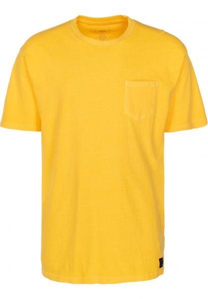 Vans T-Shirts EB Pico BLVD Pocket aspengold vorderansicht 0399883