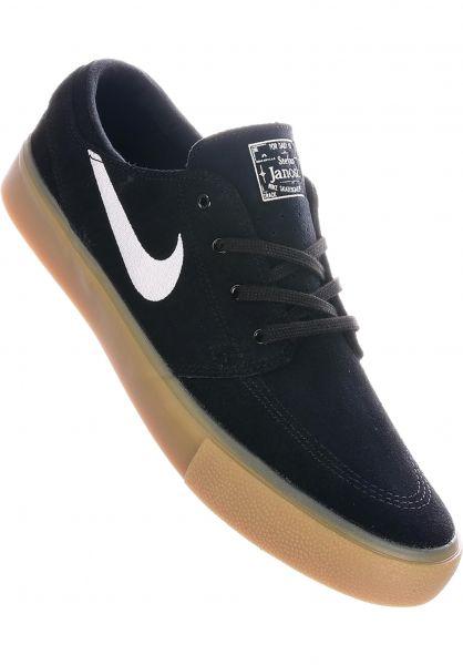 mecanismo Crudo comienzo  Zoom Stefan Janoski RM Nike SB All Shoes in black-white-gum for Men | Titus