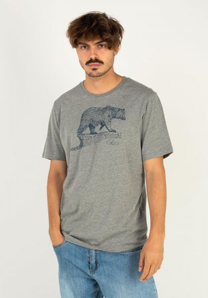 Rules T-Shirts Bear Scribble greymottled vorderansicht 0398511