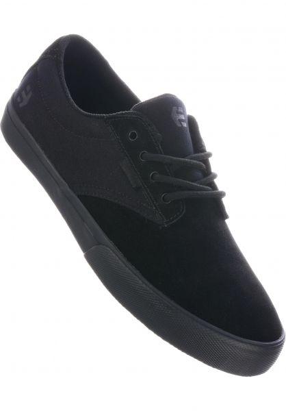 etnies Alle Schuhe Jameson Vulc black-black-black vorderansicht 0603802
