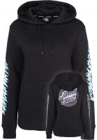 Santa-Cruz Hoodies Flame Dot black Vorderansicht
