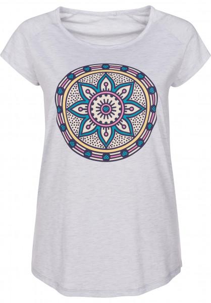 TITUS T-Shirts Oriental lightheathergrey Vorderansicht