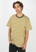 huf-t-shirts-alex-stripe-goldenspice-vorderansicht-0322585