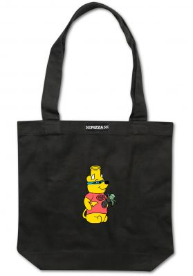Pizza Skateboards Pooh Bong Tote Bag