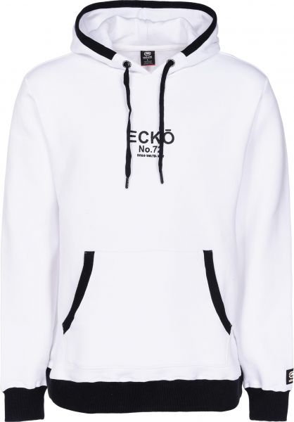 Ecko Hoodies Skeleton Coast white Vorderansicht