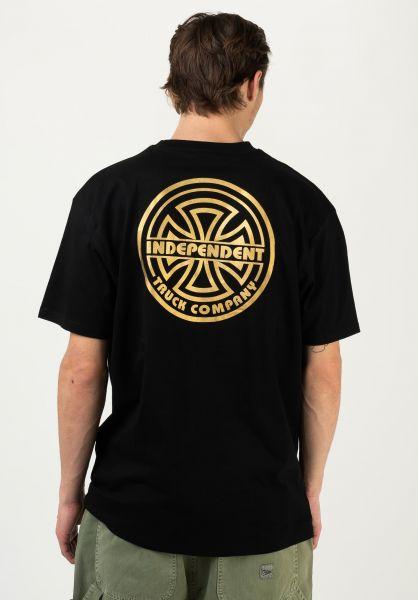 Independent T-Shirts Bauhaus Bold black vorderansicht 0322552