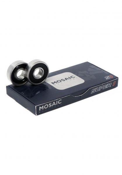 Mosaic Kugellager S1 Abec 7 silver-black vorderansicht 0180257