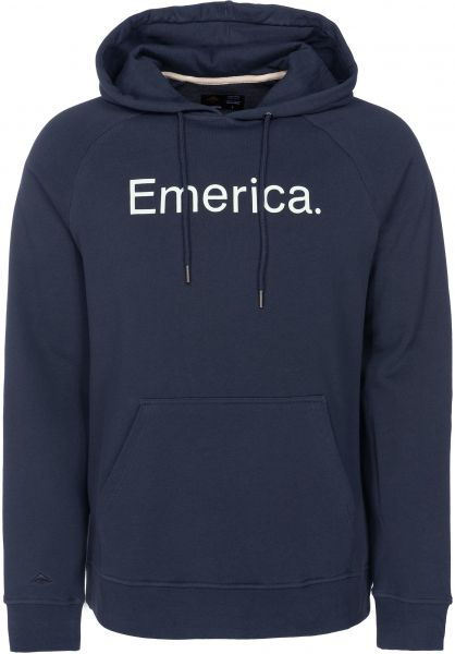 Emerica Hoodies Purity FW18 navy vorderansicht 0445131