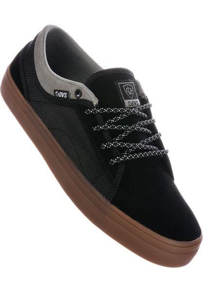 DVS Alle Schuhe Aversa+ black-grey vorderansicht 0604356