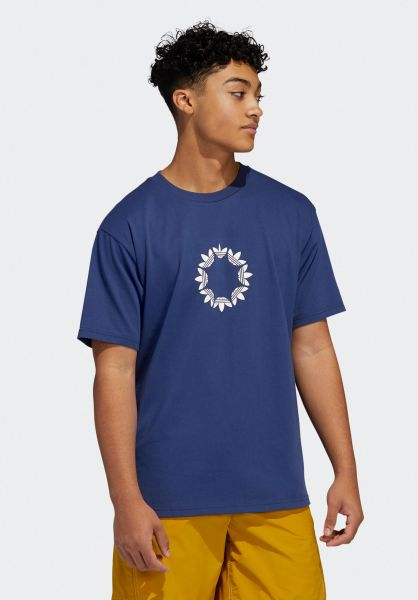 ropa Dependencia Cooperativa  Pinwheel adidas-skateboarding T-Shirts in techindigo for Men | Titus