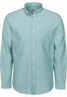 Carhartt WIP Hemden langarm Button Down Pocket jade Vorderansicht